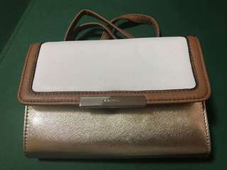 Nine West Clutch (with clip-on straps)