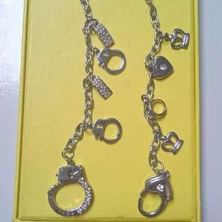 Preloved gantungan kunci cantik dan mewah