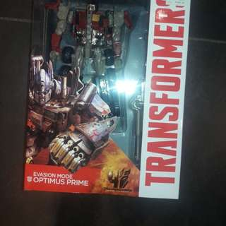 Transformers age of extinction-voyager class evasion mode optimus prime