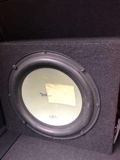 Rockford Fosgate Subwoofer With Box