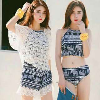 LY: 4-in-1 Ladies Swimwear (Free Size)