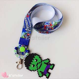 Personalised Lanyard- Hulk inspired
