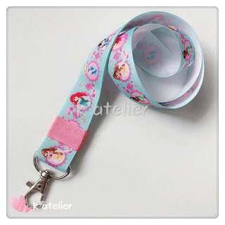 Lanyard- Disney Princess Inspired