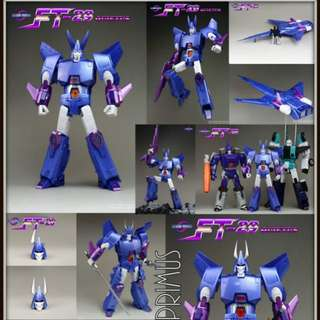 Fans Toys Fanstoys FT-29 FT29 Quietus - Transformers Masterpiece MP IDW MTMTE Cyclonus & Targetmaster Nightstick