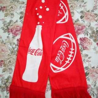可口可樂 7人欖球領巾