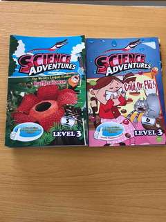 Science Adventure Magazines (Primary Science) ~ Total 9 books