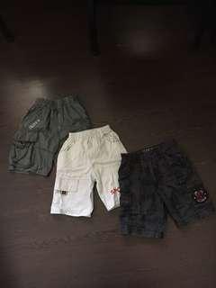 4T shorts, Bermudas for kids, children, toddlers