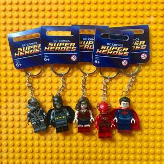 TAKE ALL Justice League Keychain Set