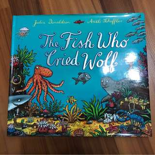 Julia Donaldson-The Fish who cried wolf