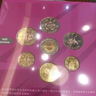 罕有,香港回歸1997年特別版紀念錢幣套裝,全新,每套