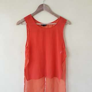 Must go! Topshop Coverup Top