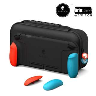 [NEW] Nintendo Switch Skull & CO Grip Case (Neon Red / Blue)