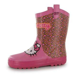 Hello kitty girls wellies rain boots