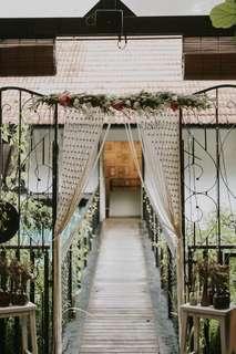 Wedding Macrame Arch