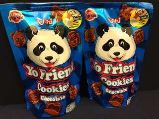 🚚 泰國小熊餅乾巧克力口味