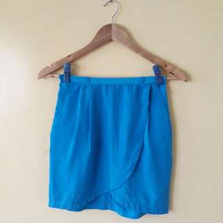 Must go! H&M Blue Skirt