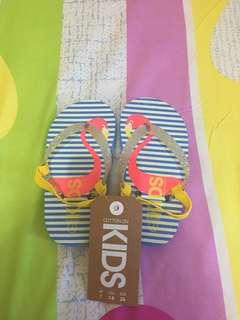 Cotton On Kids Flamingo Sendal