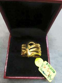 18K JAPAN GOLD RING