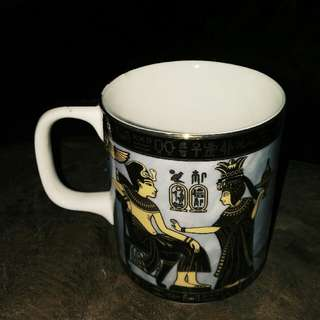 EGYPT Fathi Mahmoud Hieroglyphics Straight Mug