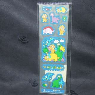 Sanrio Wearedinosaurs 1993' Stickers 貼紙