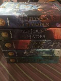 Heroes of Olympus Complete Set (SoftBound)
