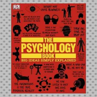 The Psychology Book DK Publishing [eBook]