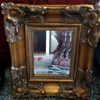Antique mirror from Europe circa 1930