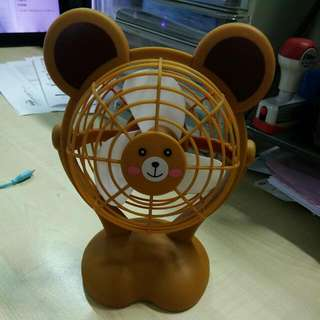 Cute Bear Bear USB table fan