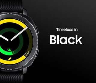 Samsung gear Sport 黑色