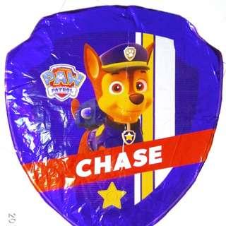Paw patrol foil balloon