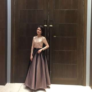 Rosegold Gown for Rent (see other photos)
