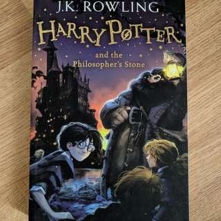 Harry Potter and the Philosopher's Stone by J.K.Rowling