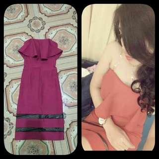 Gaun ungu