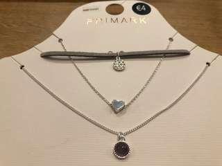 Brand New Auth Primark Necklace Set