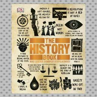 The History Book Big Ideas Simply Explained eBook