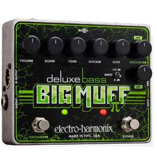 EHX Pedal Deluxe Bass Big Muff PI Distortion Sustainer