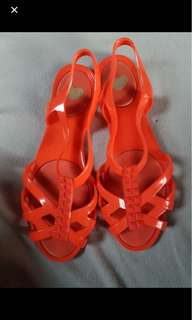 Mel by Melissa Red Sandals