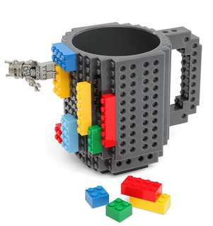 Little Build on Brick Mug - SDR981  Size: 13*10cm  Volume: 350ml  Color: as attach photo