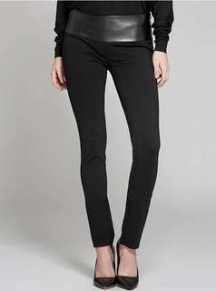 MARCIANO leather skinny pant (size 2)