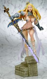 Code of princess Solange PVC figure