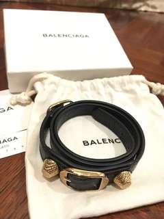 Balenciaga triple tour bracelet GHW