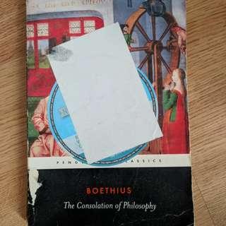 Boethius The Consolation of Philosophy