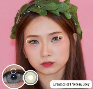Teresa grey softlens normal