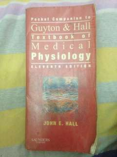 1. Baby Guyton Pocket Companion Guyton & Hall Textbook of Medical Physiology - 11th Edition m