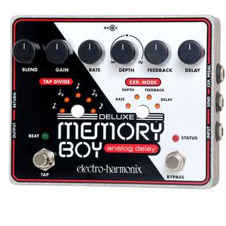 EHX Pedal Deluxe Memory Boy Analog Delay with tap tempo