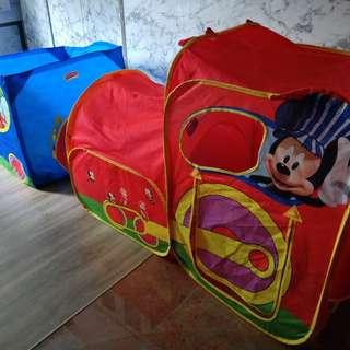 Disney train ball pit