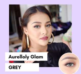Softlens aurelloly glam grey normal