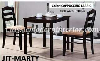 Brand new Dining set 2-seater Marty
