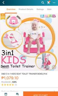 Potty Trainer 3 in 1