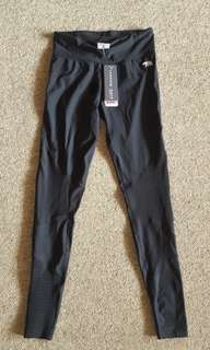 Running bare compression tights size 8